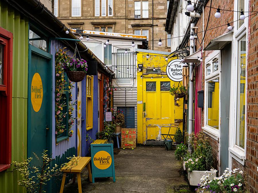 Hidden Lane - ukryte perełki w Glasgow