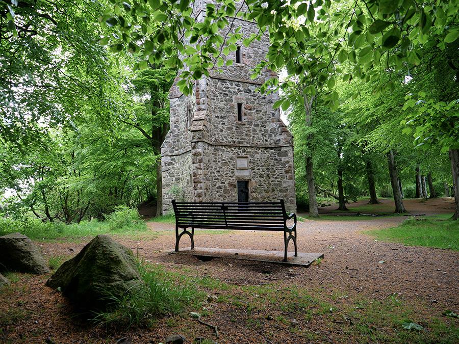 Hillwood Park i Corstrophine Hill atrakcje w Edynburgu