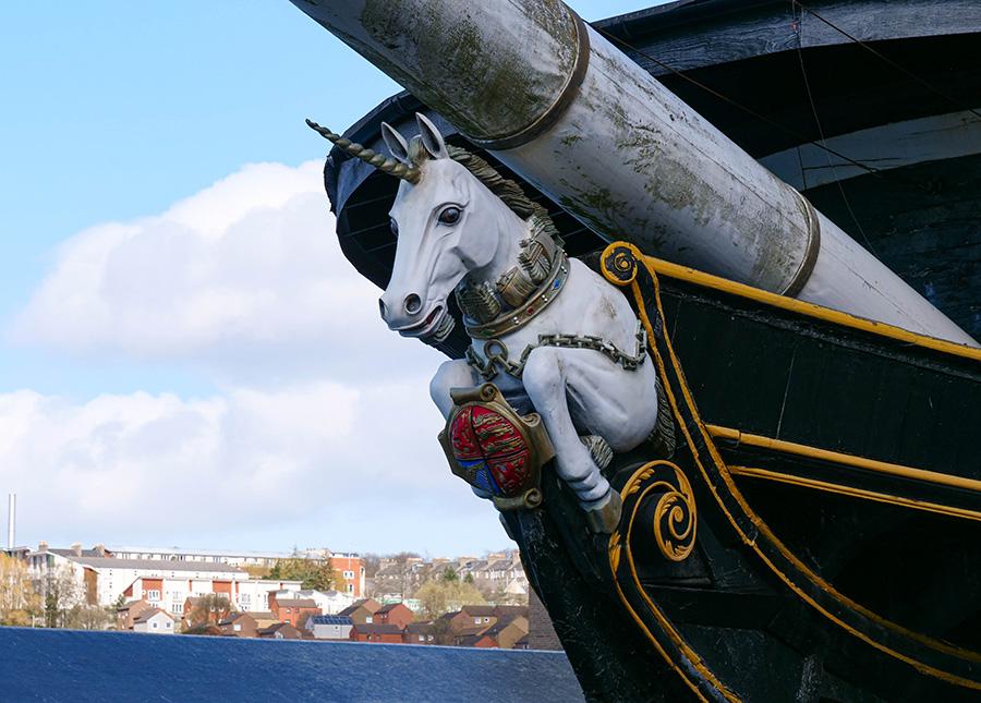 HMS Unicorn atrakcje w dundee