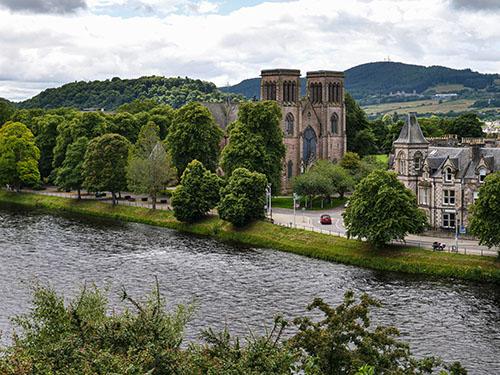 Inverness miasta w szkocji