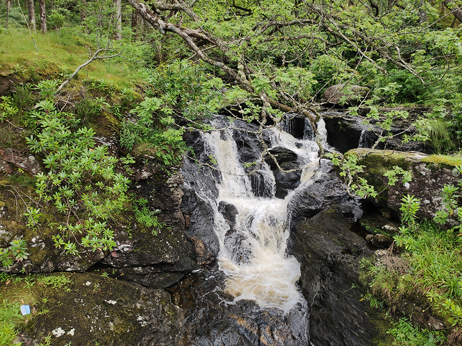 inversnaid west highland way loch lomond atrakcje