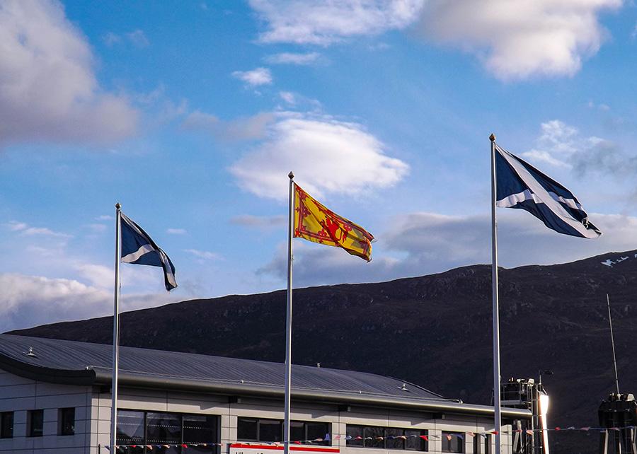 szkocja ciekawostki flaga