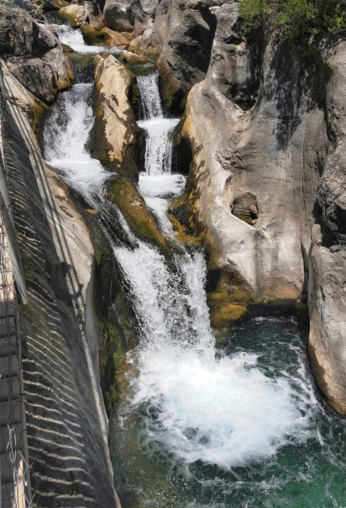 kanion wodospad sapadere turcja