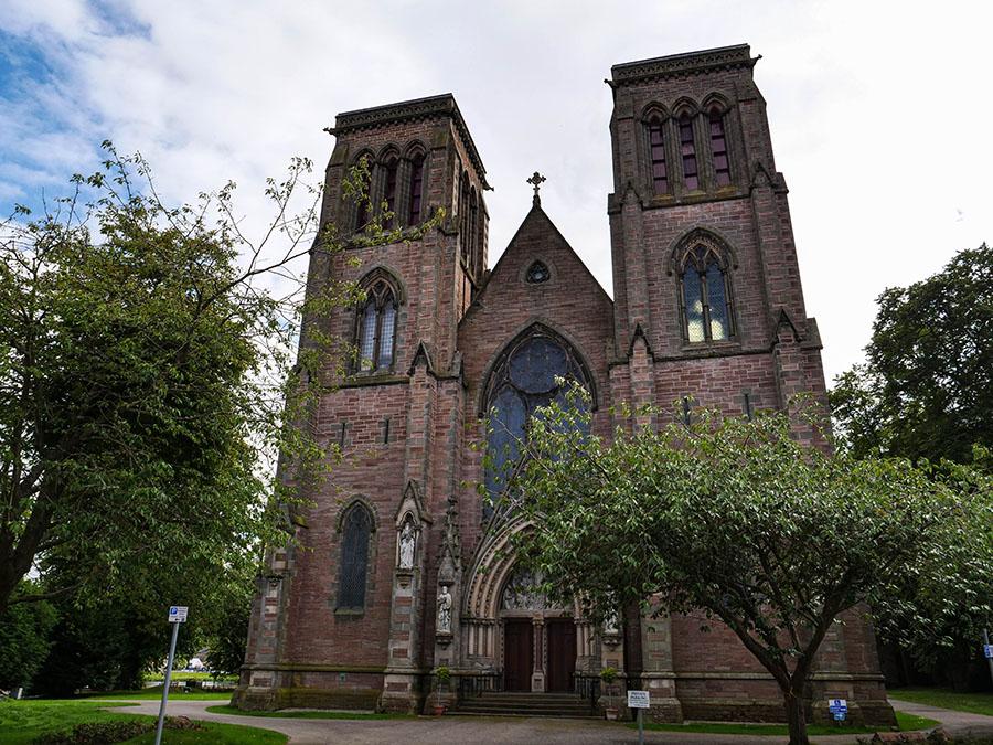 Katedra Świętego Andrzeja w Inverness atrakcje zwiedzanie