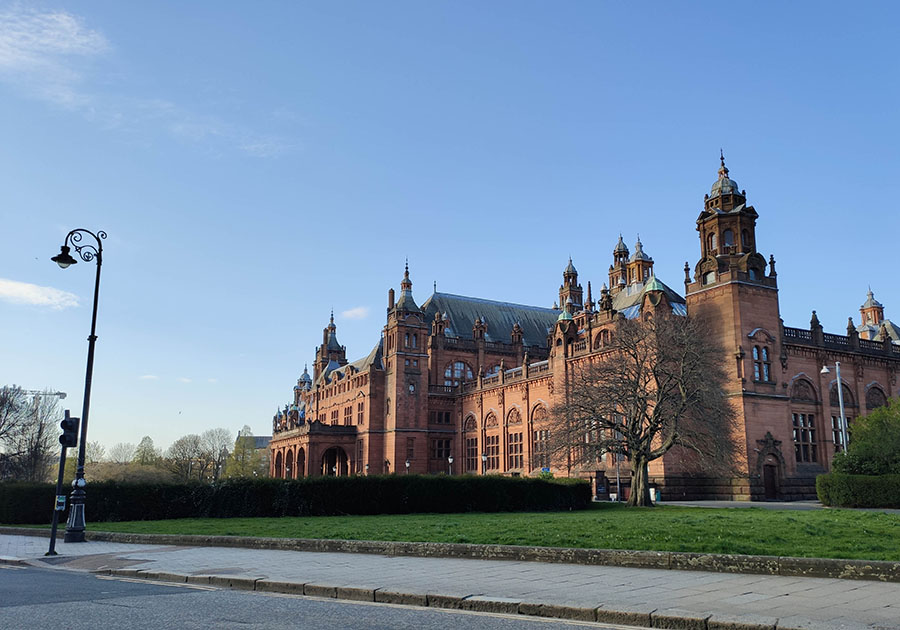 Kelvingrove Art Gallery and Museum - najpiękniejsze muzeum w Szkocji