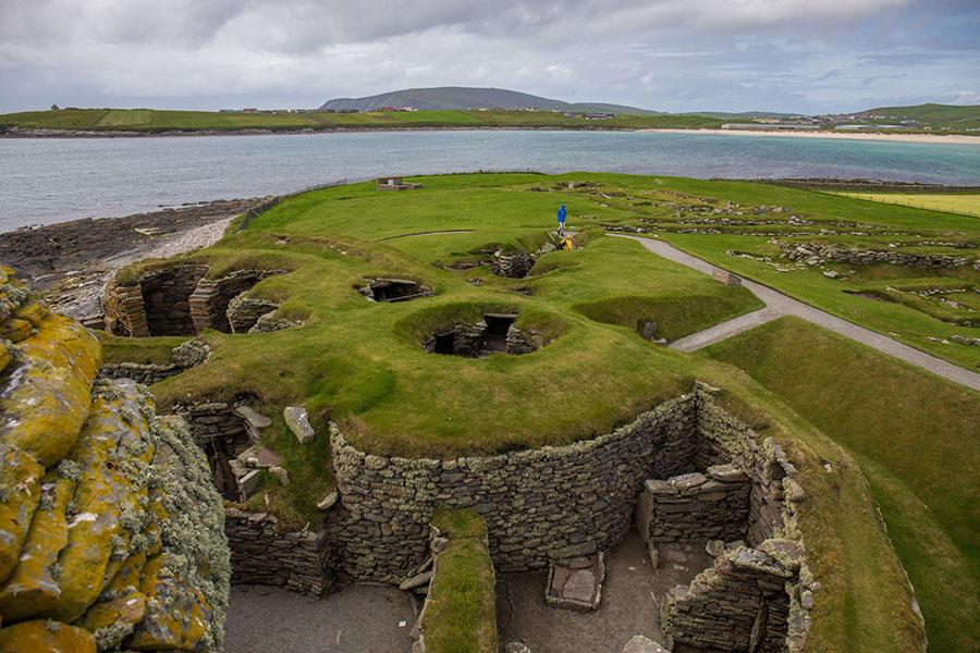 szetlandy szkocja jak dojechać atrakcje relacja jarlshof
