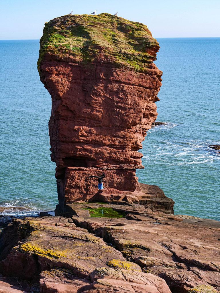Formacje skalne w Szkocji