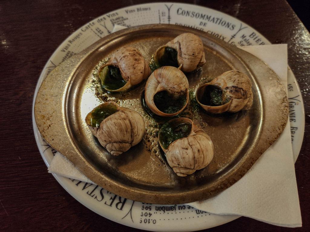 ślimaki paryż kuchnia francuska