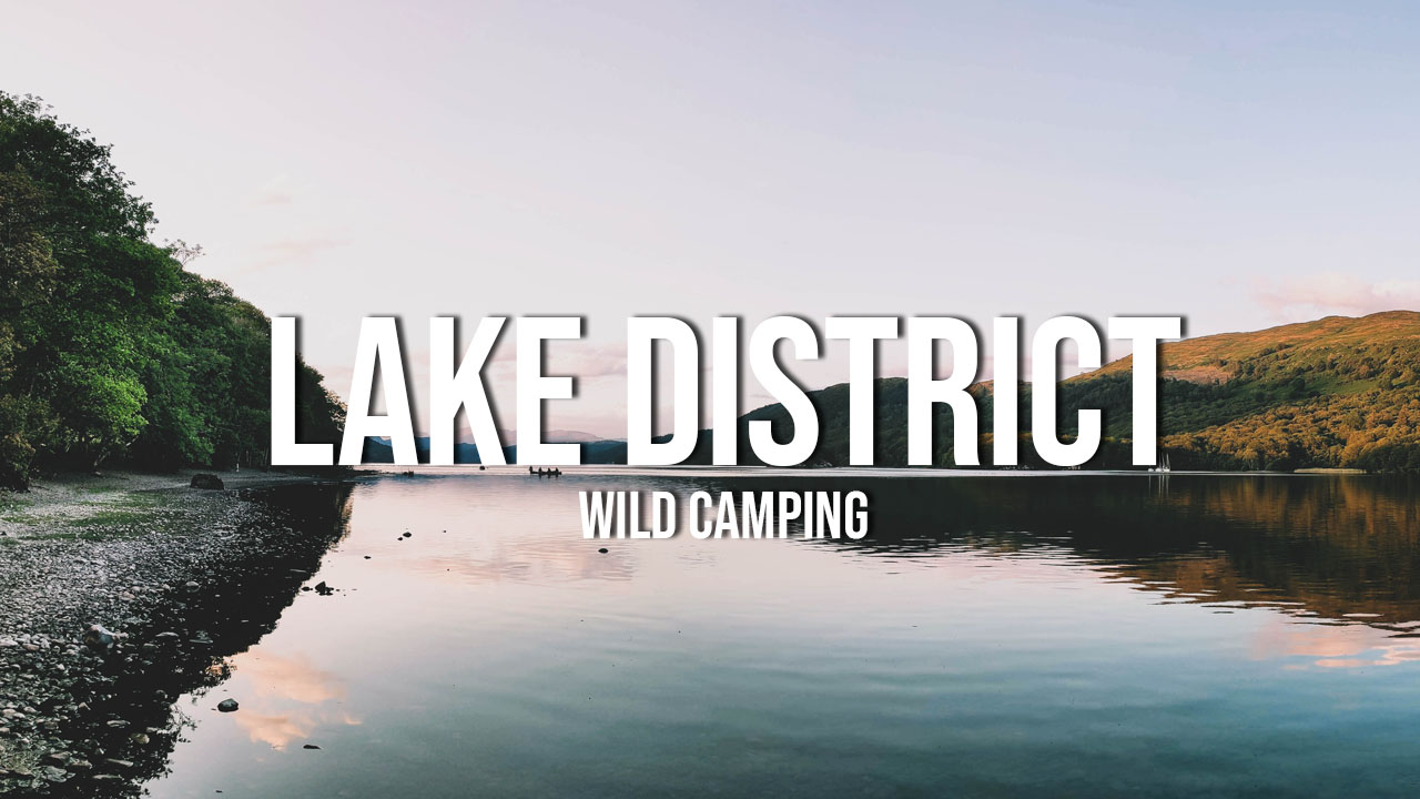 lake district nocleg na dziko wild camping