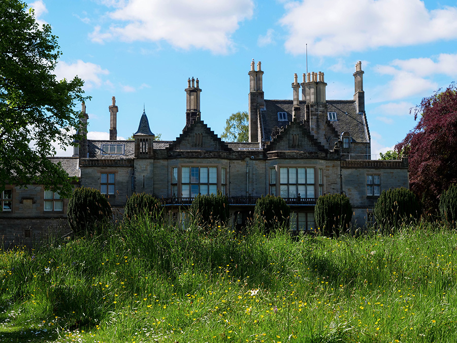 Laurieston Castle - atrakcje i zamek w Edynburgu