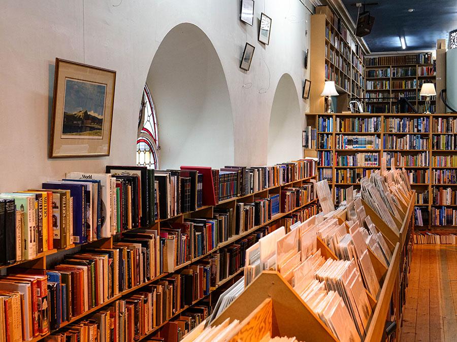 Leakey's Bookshop sklep z używanymi książkami