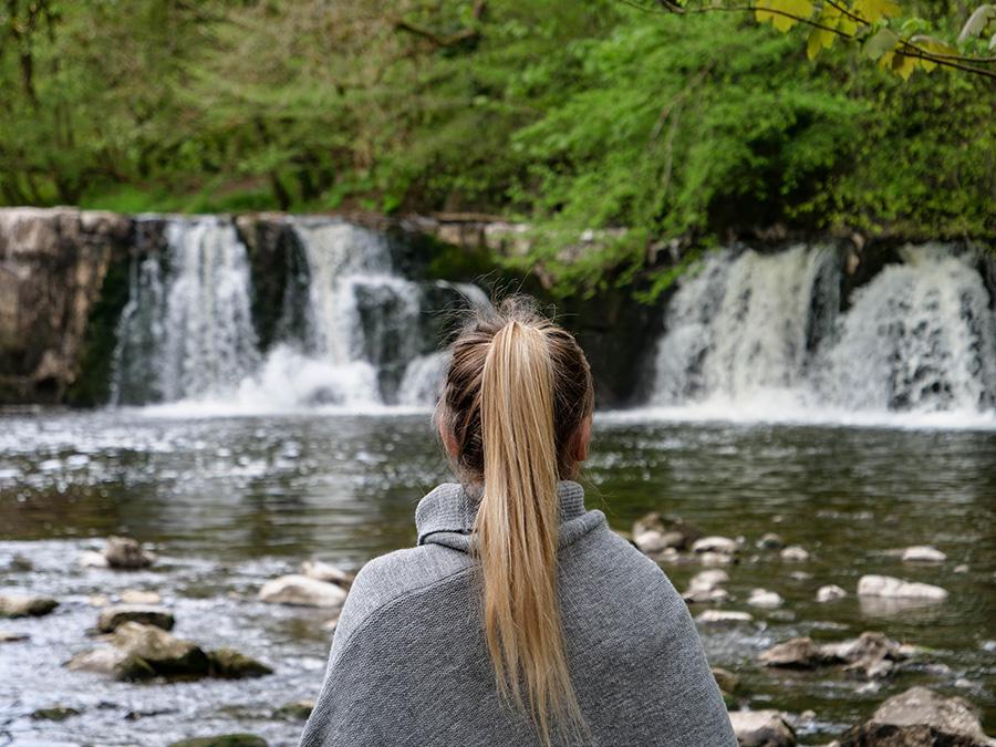 Linn Park - wodospad w Glasgow