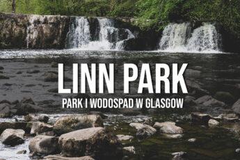 linn park wodospad glasgow szkocja atrakcje
