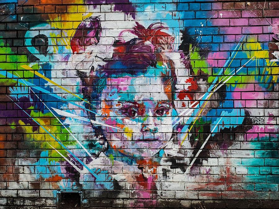 baltic trangle liverpool street art mural