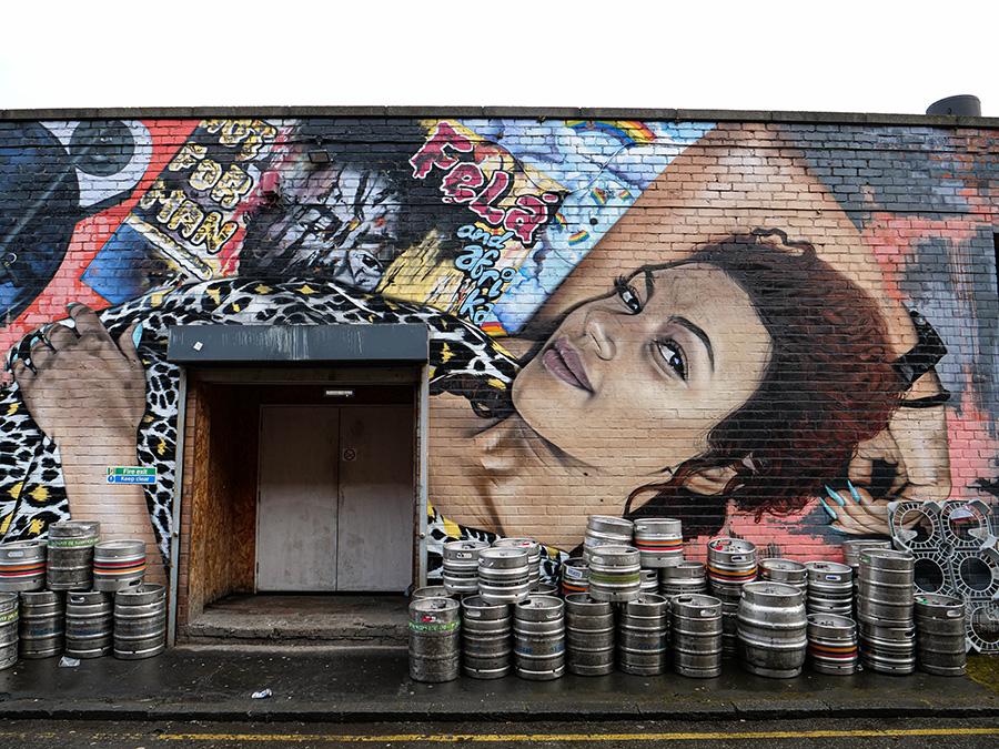 liverpool na weekend atrakcje street art