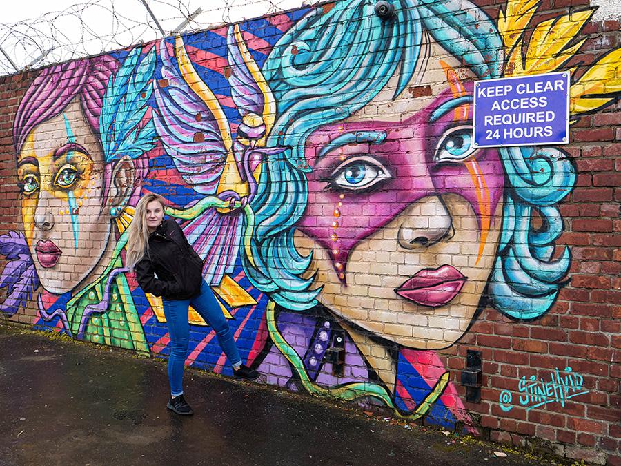 najlepszy street art w wielkiej brytanii
