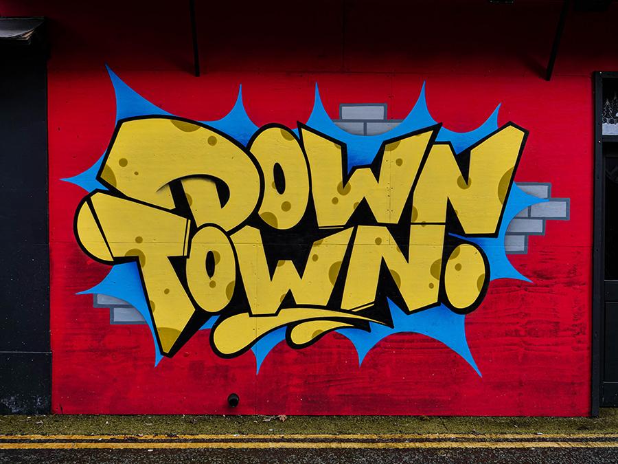 liverppol downtown street art