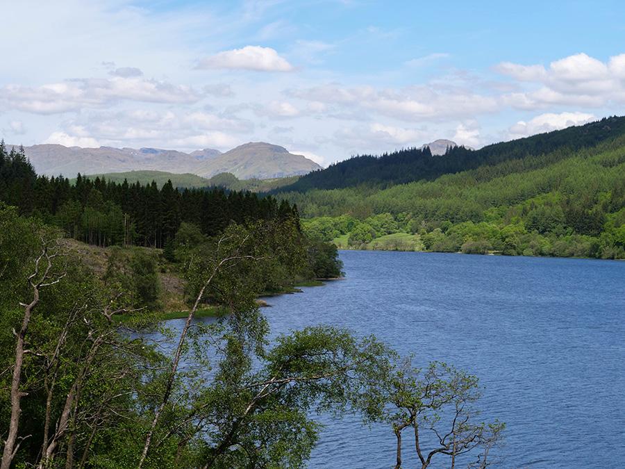 loch chon jeziora w Szkocji