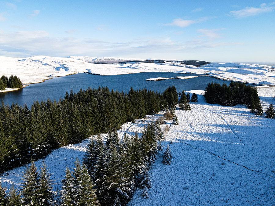 loch humphrey killpatrick hills mało znane góry w szkocji