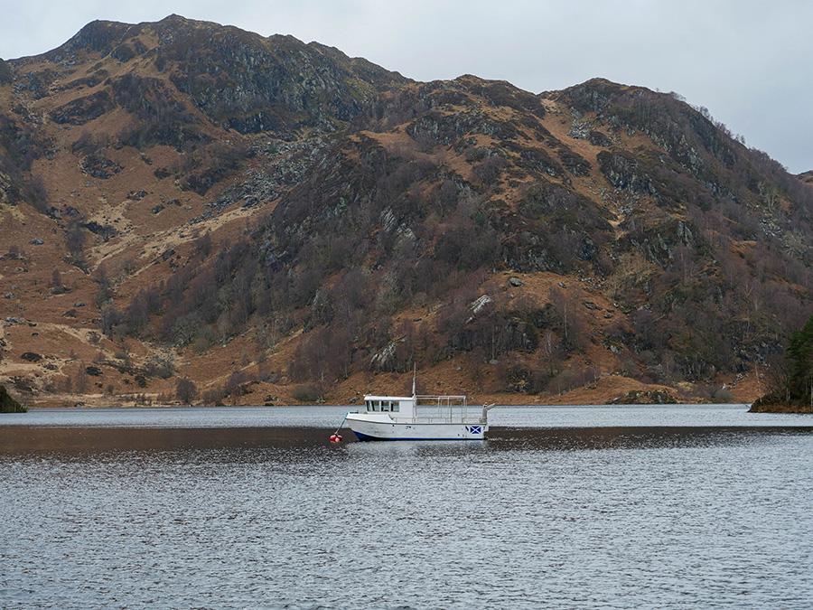 Loch Katrine - ukryta perełka wśród Trossachs Szkocja