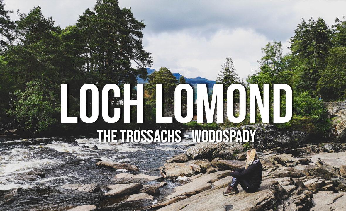 loch lomond szkocja wodospady