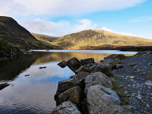 Loch Skeen południowa Szkocja