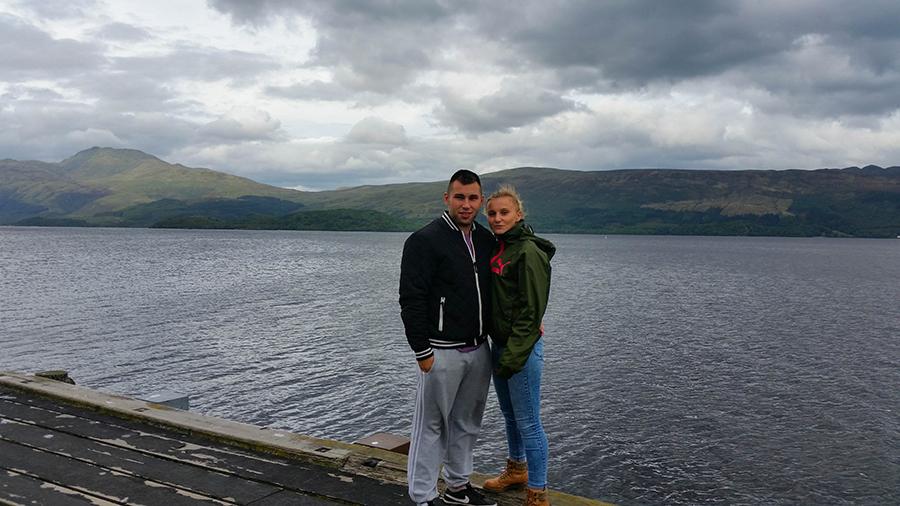 loch lomond góry szkocja