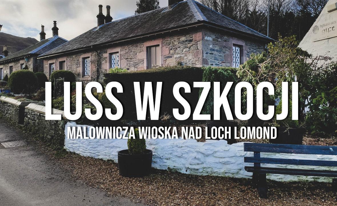 luss malownicza wioska loch lomond