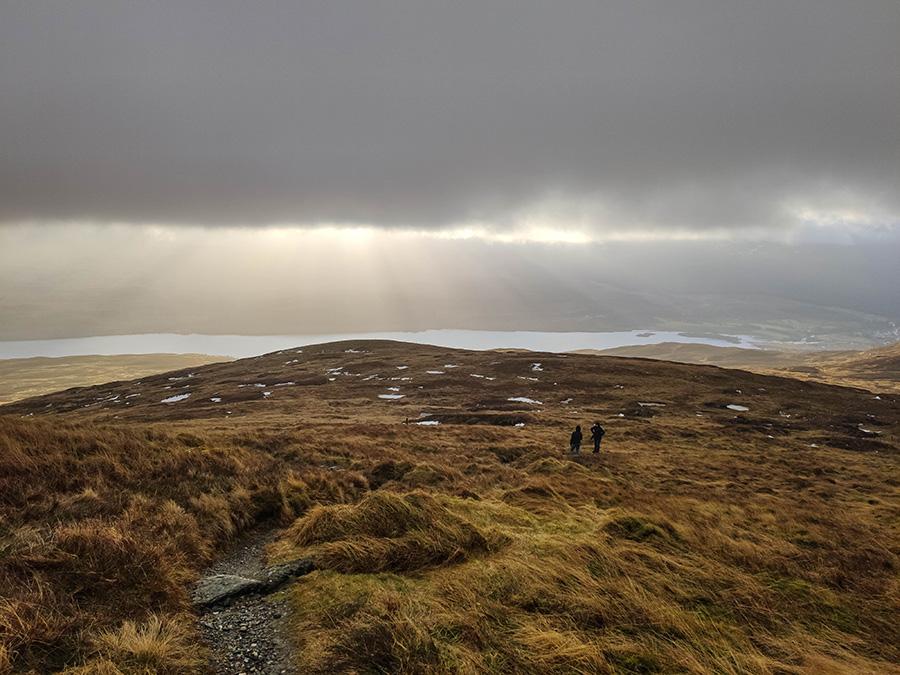 Meall nam Tarmachan góry w szkocji