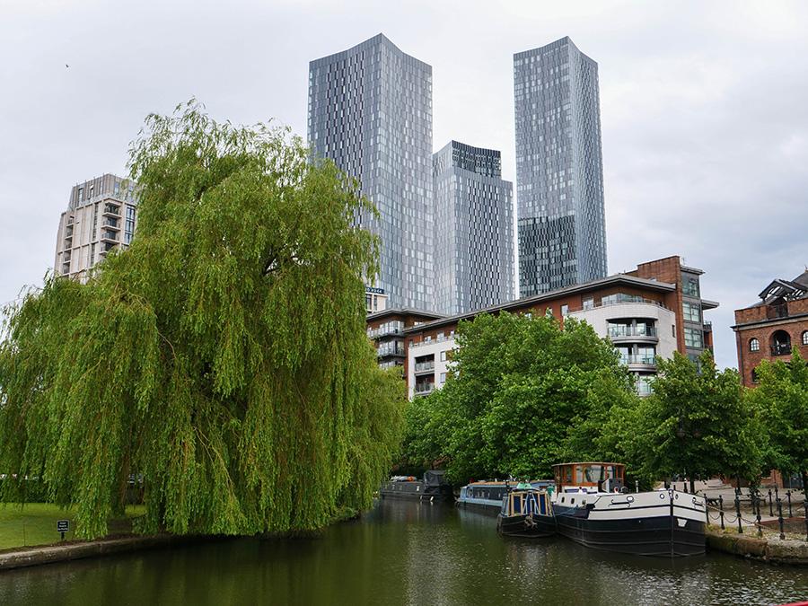 dzielnica Castlefield atrakcje w Manchesterze