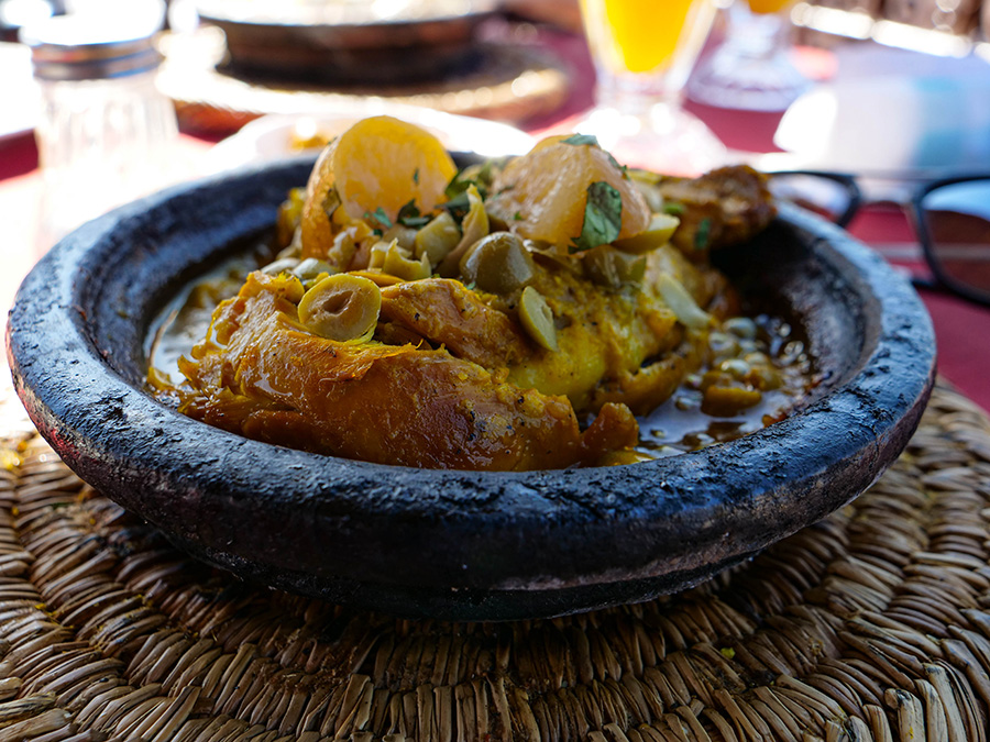 co zjeść w maroko tadżin