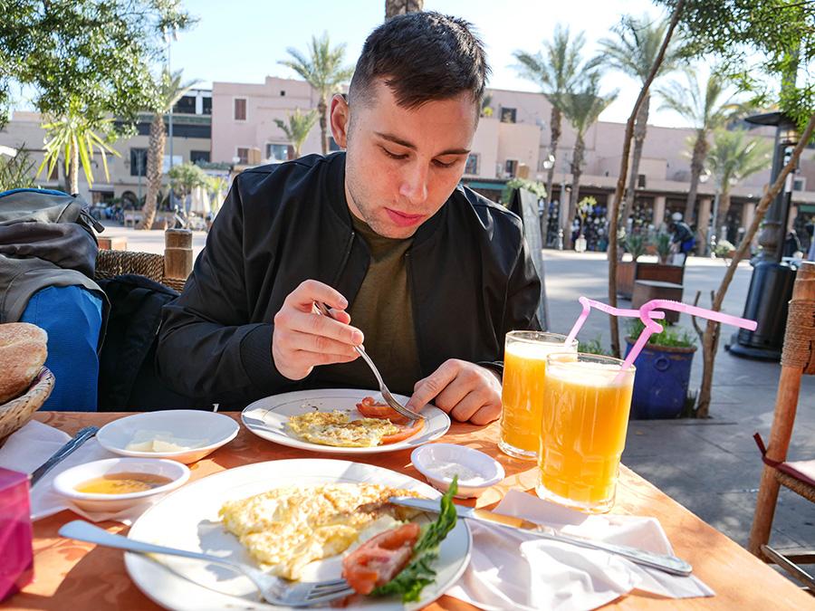 co zjeść w maroko śniadanie marokańskie