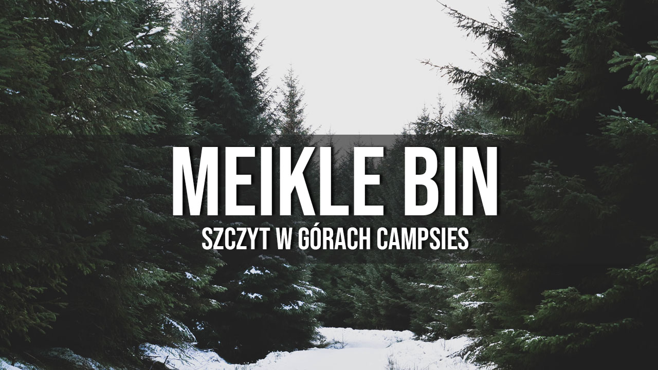 Meikle Bin - Campsies w okolicach Glasgow