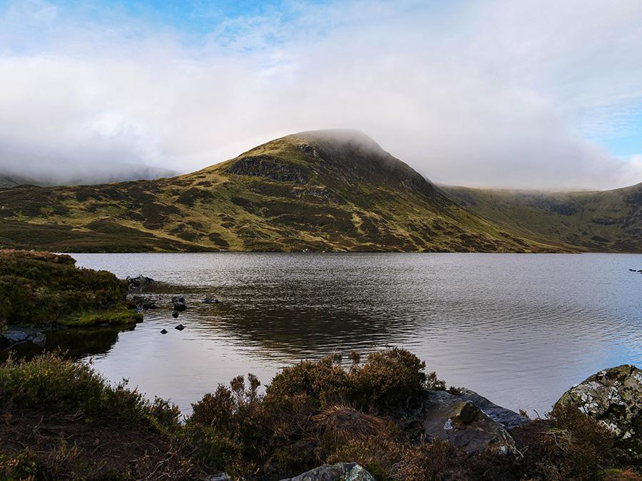 Loch Skeen - jezioro w górach