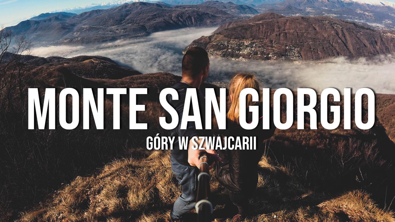 monte san giorgio alpy góry w szwajcarii