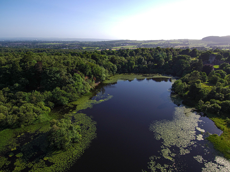 mugdock country park i zamek w glasgow
