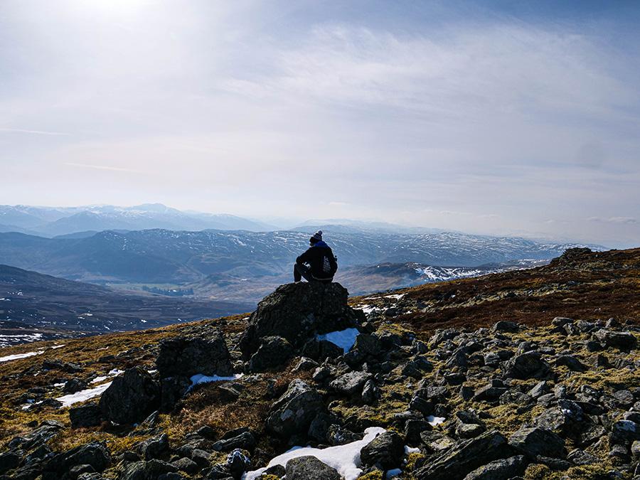 góry munro bagging w szkocji