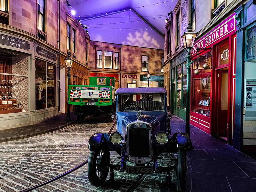 riverside muzeum transportu w glasgow