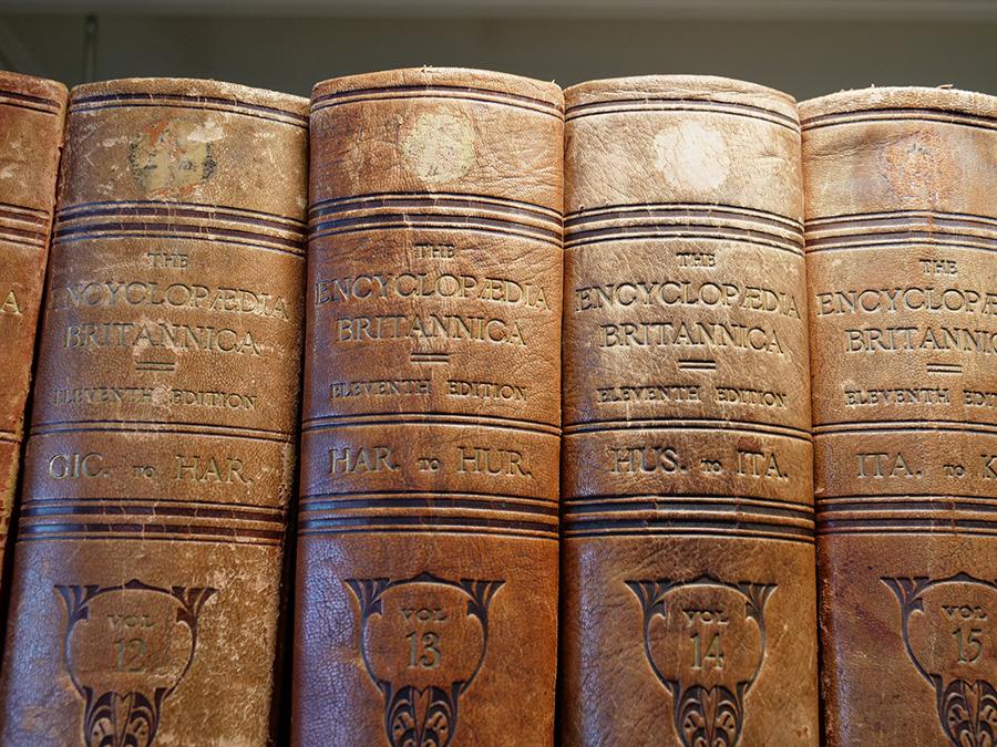 Najstarsza, znana anglojęzyczna encyklopedia na świecie