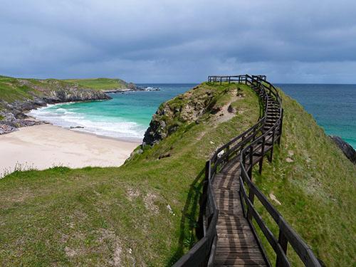 Najpiękniejsze plaże przy drodze North Coast 500