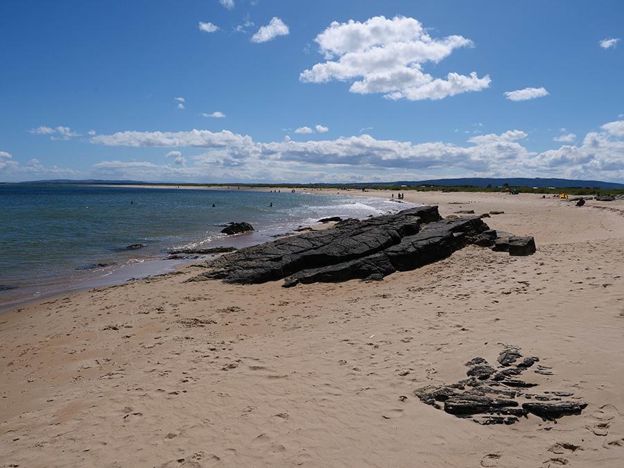 north coast 500 plaża w dornoch