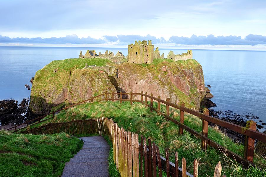 relacja z wyjazdu do szkocji north coast 500 blisko coraz dalej Dunnottar Castle