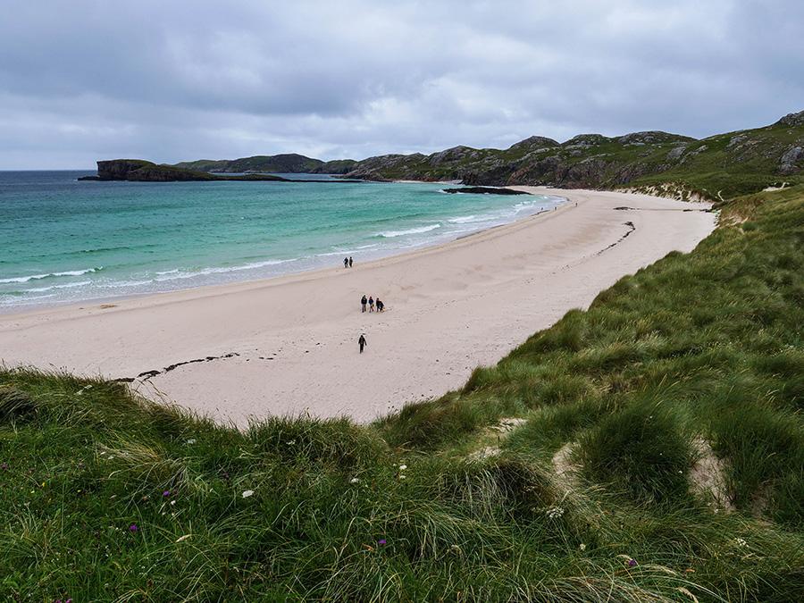 Najpiękniejsze plaże w Szkocji Rajskie plaże