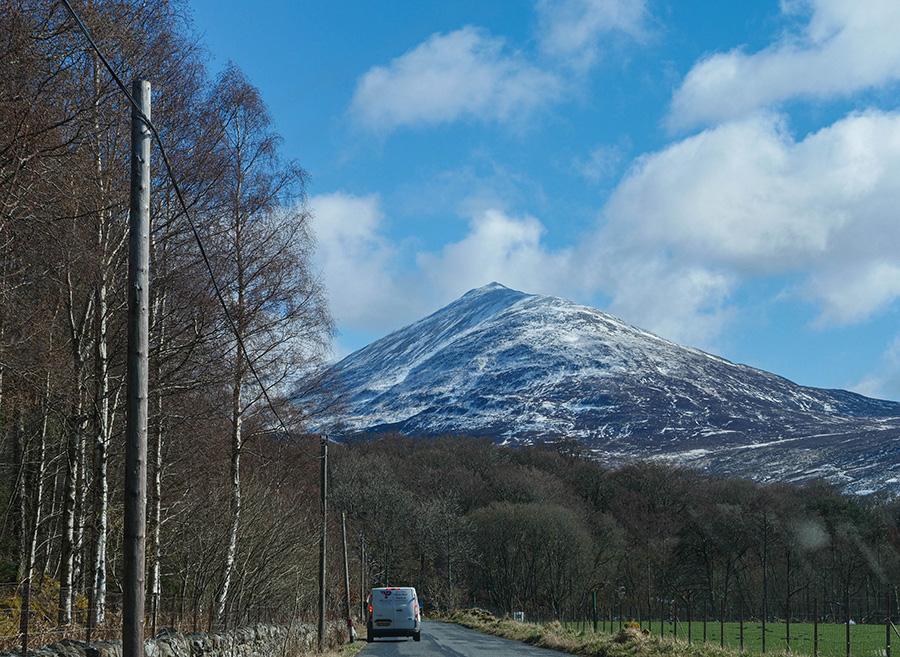 Craigh na Dun Outlander Szkocja