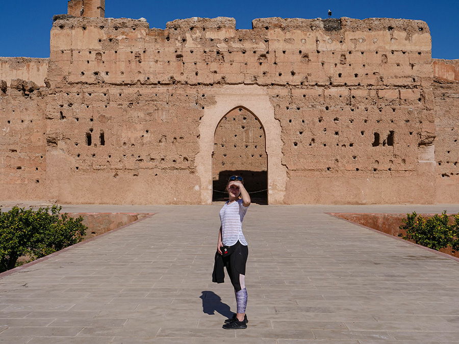 pałac el badi w marrakeszu