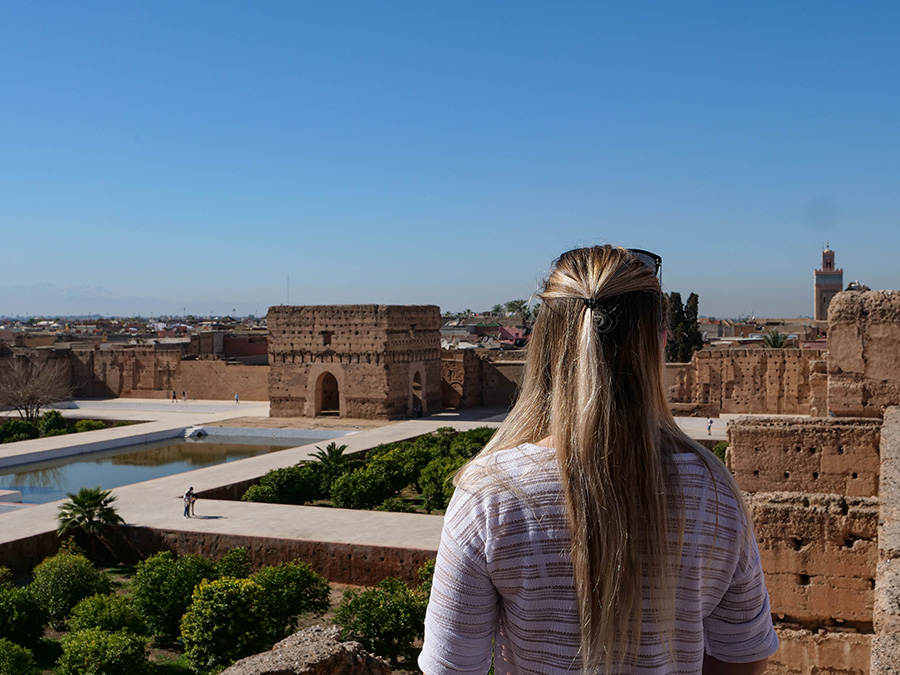 co zobaczyć w maroko pałac el badi