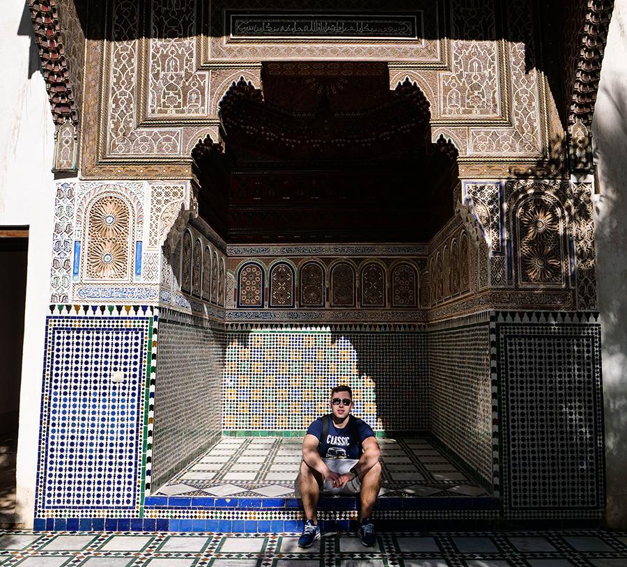pałac el bahia marrakesz