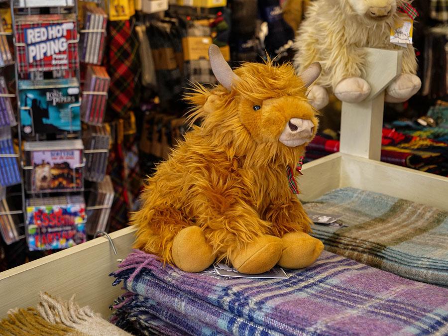 pamiątki co kupić w Szkocji