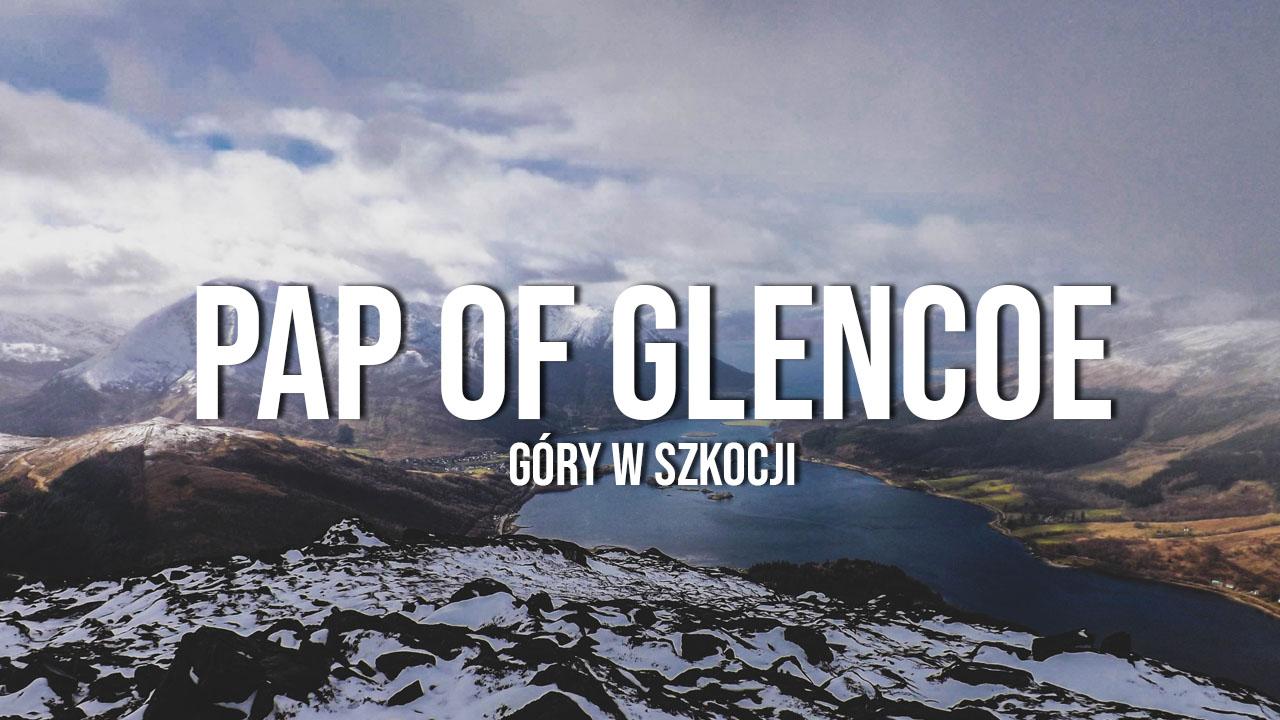 Pap of Glencoe - szkockie góry zimą