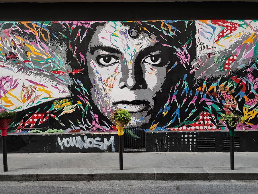 dzielnica monrmartre street art